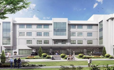 Okan Üniversitesi Tıp Fakültesi Hastanesi Mimari projesi
