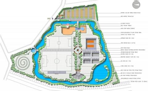 Asya Finans Termal Tatil Köyü Rekreasyon Tesisleri Genel Yerleşme Projesi - 2001