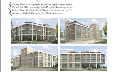 hastane mimarı ve hastane projesi