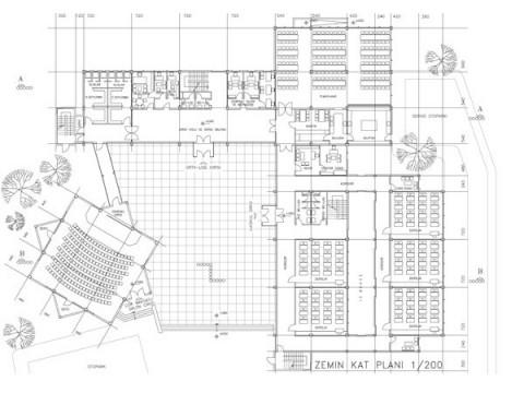 Eğitim yapıları, eğitim yapı mimarı, okul mimarisi, okul mimarı, öğretim binaları, kenan geyran, geyran mimarlık