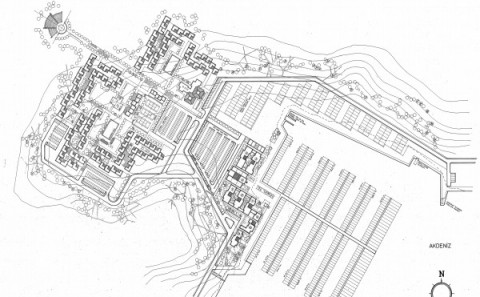 Yes Turizm A.Ş. 880 Yataklı Tatilköyü ve 500 Yatlık Taliyat Limanı Tesisleri - 1988